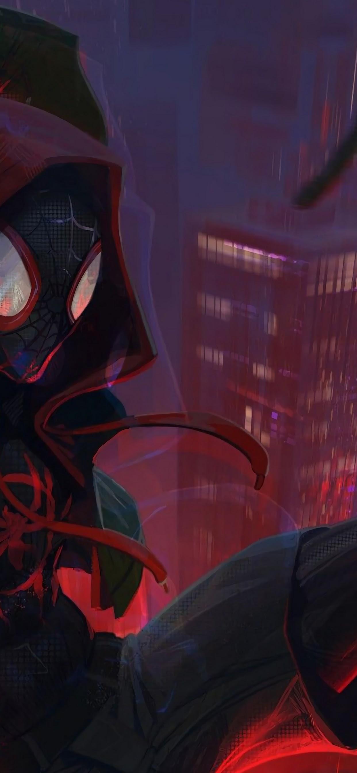 Spider Man Into The Spider Verse Wallpaper Iphone 11