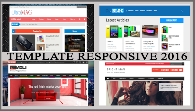 Download Template Responsive Blogger Free 2016