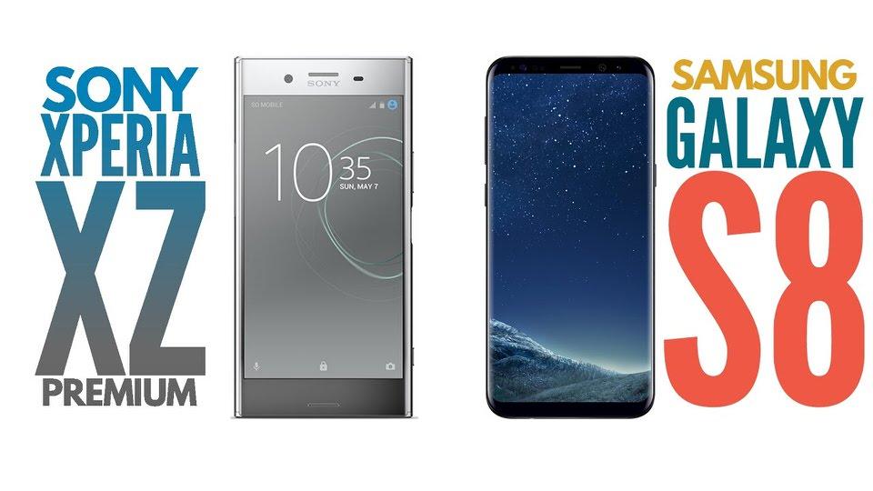 Galaxy S8 VS Xperia XZ Premium