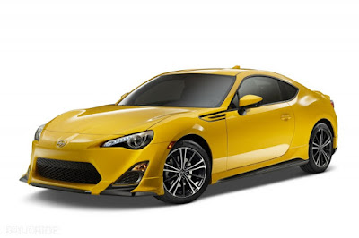 2016 Scion FR-S left side front view