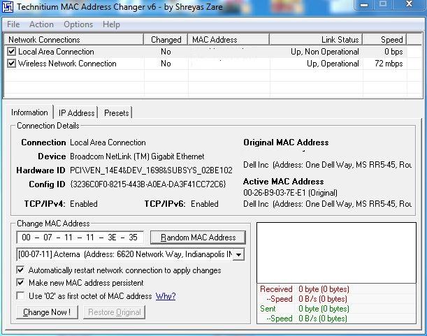Broadcom netlink gigabit ethernet