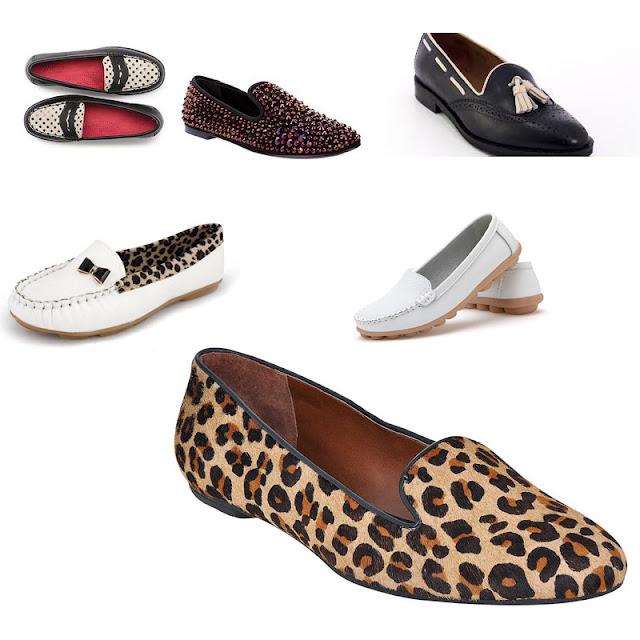 loafers femininos