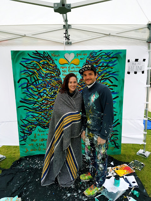 Fete de l'Iris - Peinture - Visages - Flesh and Acrylic Body Painting - Ben Heine Art - Live Performance -25