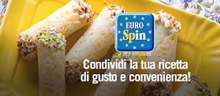 Logo Giallo Zafferano ti fa vincere buoni spesa Eurospin