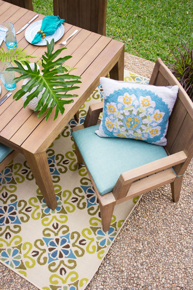 Pretty backyard patio decor ideas
