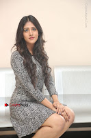 Actress Chandini Chowdary Pos in Short Dress at Howrah Bridge Movie Press Meet  0148.JPG