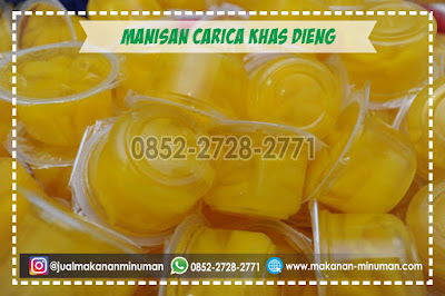 manisan carica khas dieng, makanan sehat, 0852-2728-2771