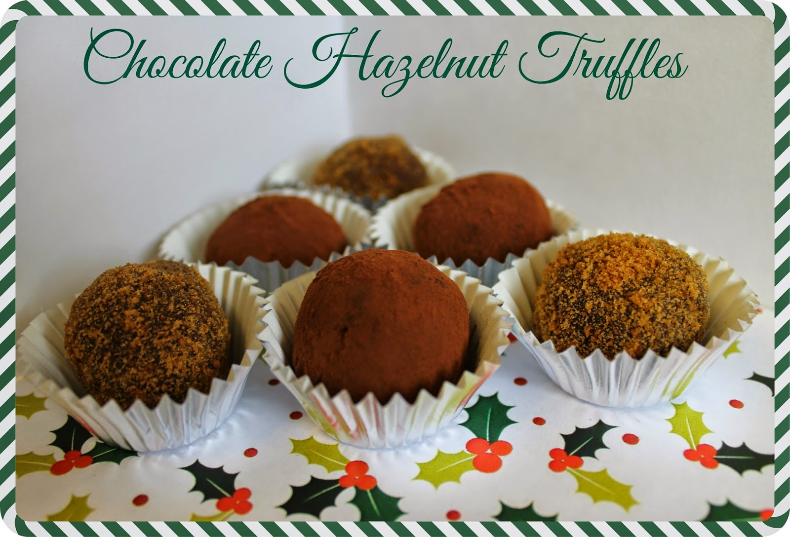 Chocolate Hazelnut Truffles (Vegan)