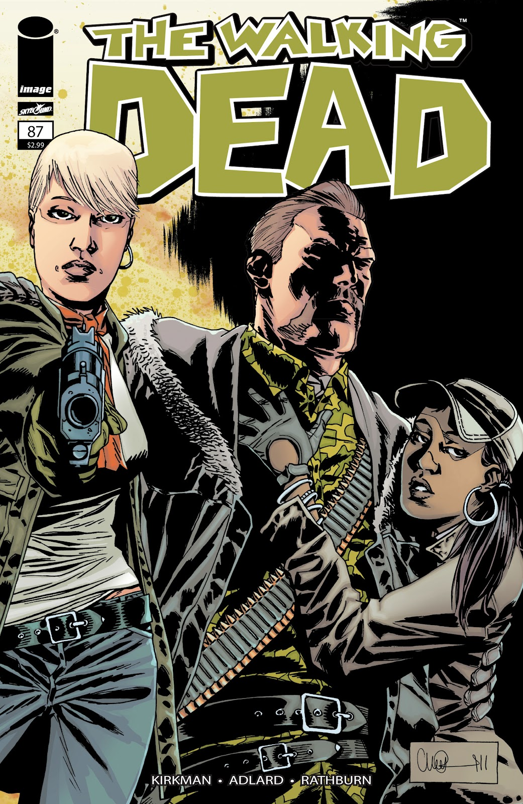 The Walking Dead issue 87 - Page 1