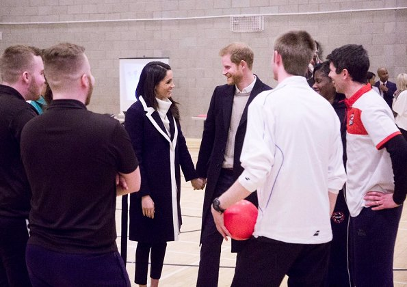 Meghan Markle wore All Saints 'Ridley' white jumper