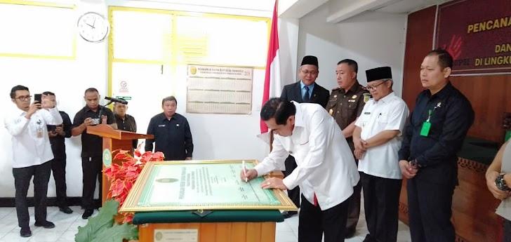 Wali Kota Sungai Penuh mendukung PN Sungai Penuh untuk ciptakan wilayah bebas korupsi