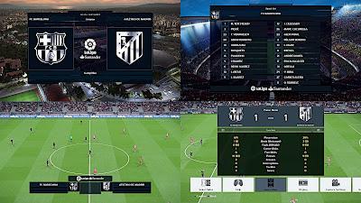 PES 2018 La Liga Santander 2017/2018 3D Metalic Logo by affan7x