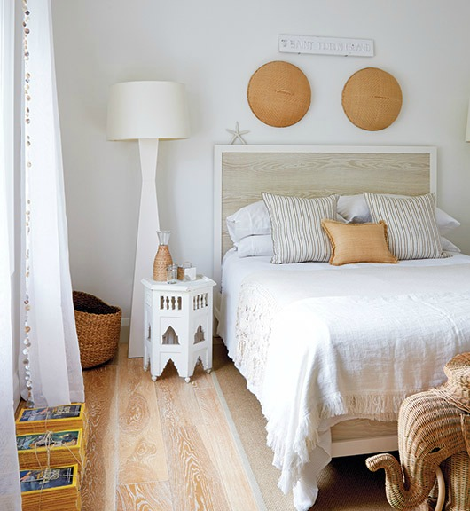 Caribbean Island Style Bedroom