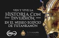 TUTANKAMON | MUSEO EGIPCIO Mundo Aventura 1