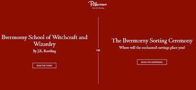 The Ilvermorny Sorting Ceremony - begin the experience