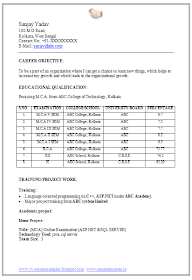 Over 10000 CV and Resume Samples with Free Download: MCA ... on resume examples, resume format mba, resume format ideas, resume writing for freshers, professional resume for freshers, resume trends 2014, resume format job, resume writing format, resume for safeway, resume builder for freshers, medical doctor resume freshers, resume skills section, resume format pdf, sample resume for freshers, resume chronological order, resume format india, resume format in powerpoint, resume templates, resume bullet list, resume application format,