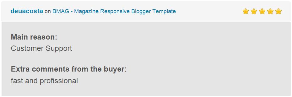 BMAG - Magazine Responsive Blogger Template - 25