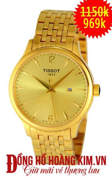 Đồng hồ nam Tissot.