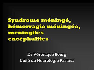 Syndrome méningé, hémorragie méningée, méningites encéphalites.pdf