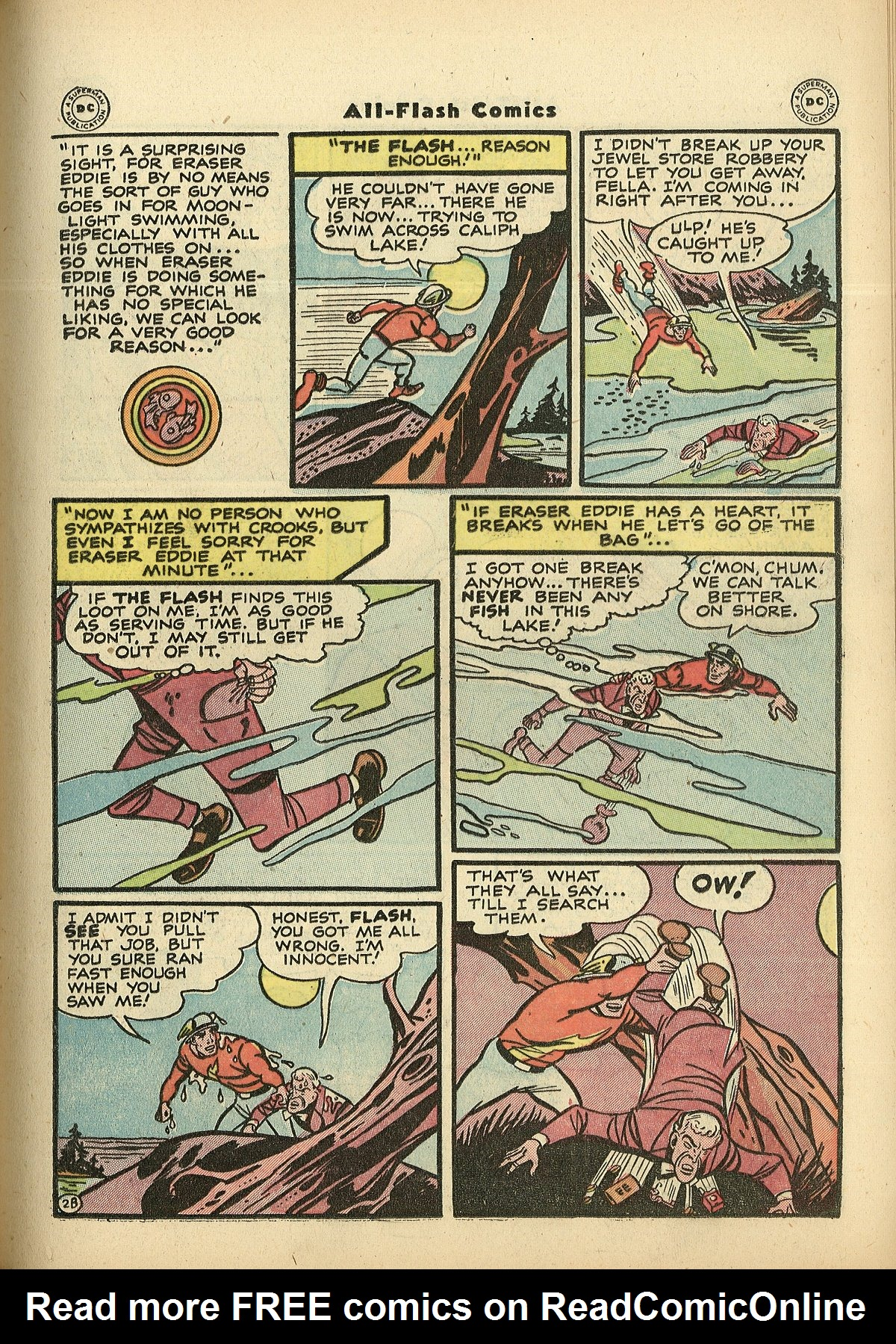 Read online All-Flash comic -  Issue #27 - 17