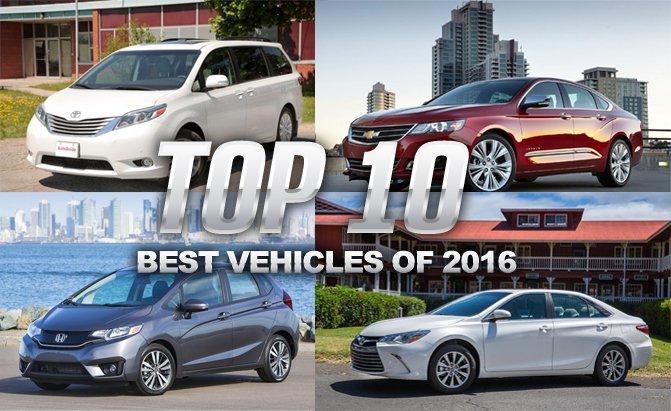 Top 10 xe ô tô tốt & đáng mua nhất 2016 theo đánh giá của Consumer Reports (CR)
