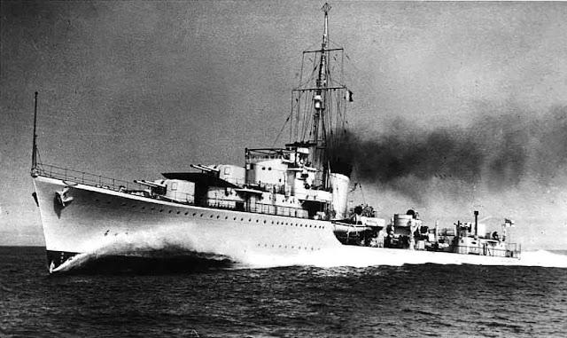 HMS Kelly 23 May 1941 worldwartwo.filminspector.com
