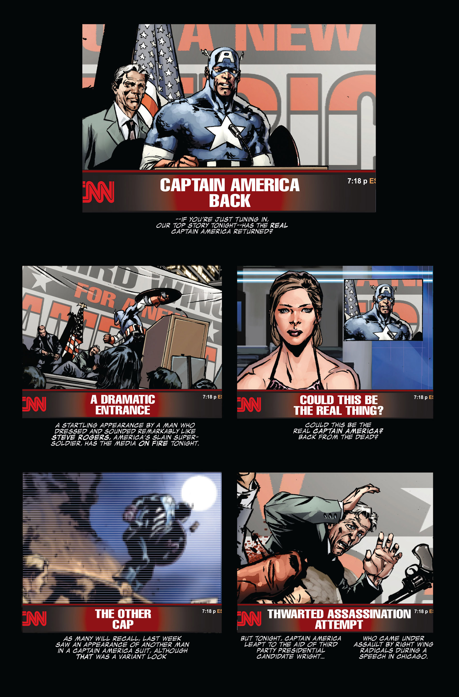 Captain America (2005) Issue #39 #39 - English 11