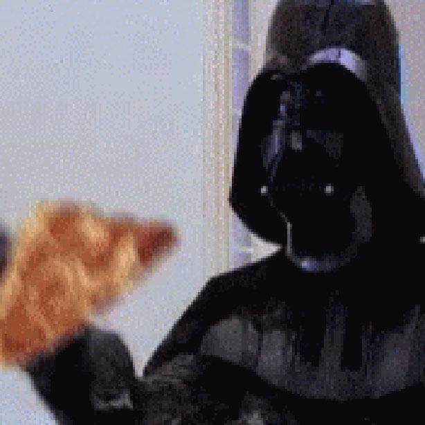 Darth Vader Loves Pizza Wallpaper Engine
