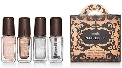mark. Totally Nailed It Trend Mini Nail Lacquer Holiday Set