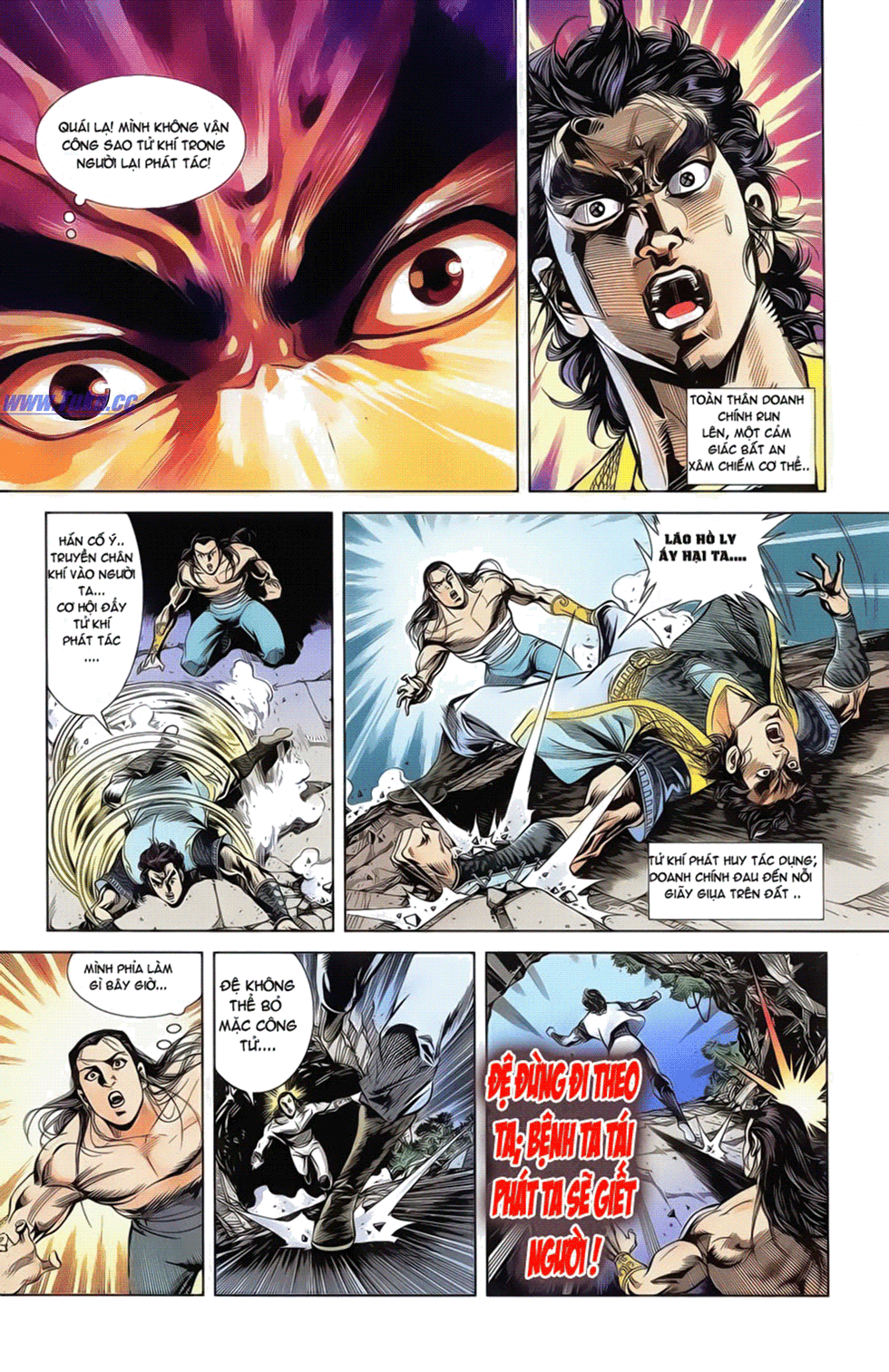 Tần Vương Doanh Chính chapter 18 trang 23