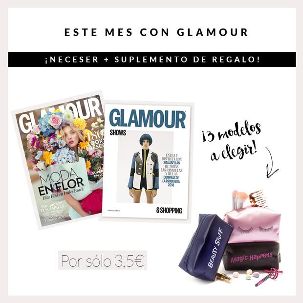 Regalo revista glamour marzo 2018