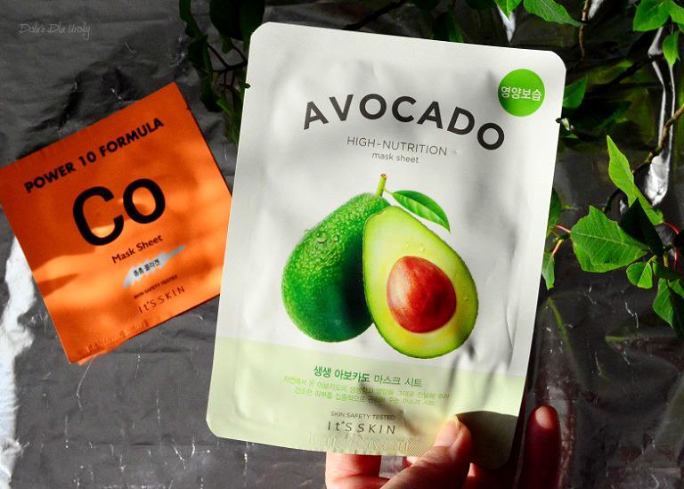 IT'S SKIN The Fresh Mask Sheet Avocado Odżywcza maseczka do twarzy w płachcie recenzja