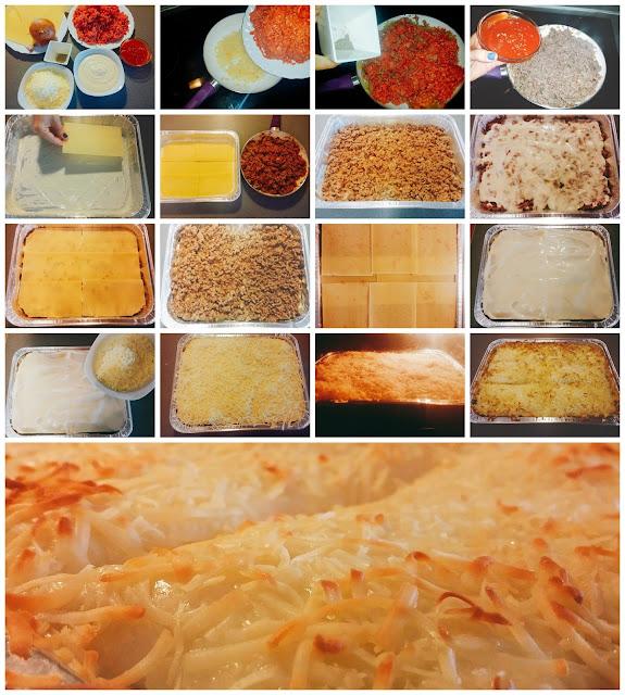 receta para hacer lasaña de carne