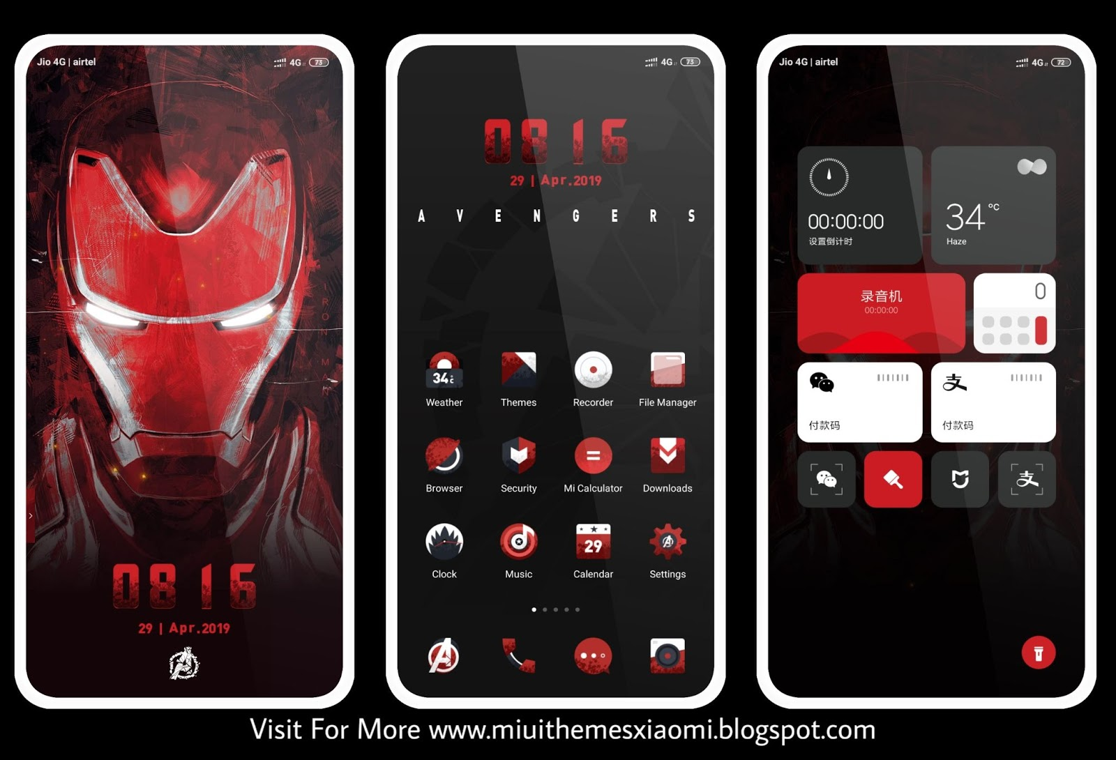Avengers: Endgame MIUI Theme Download For Xiaomi Mobile || MIUI