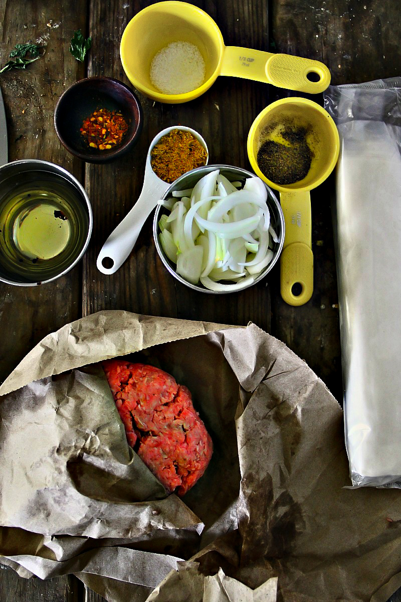 Phyllo Meat Pie - Burek
