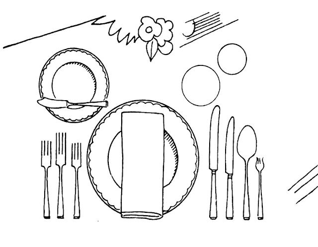 Gambar Mewarnai Peralatan Dapur - 13