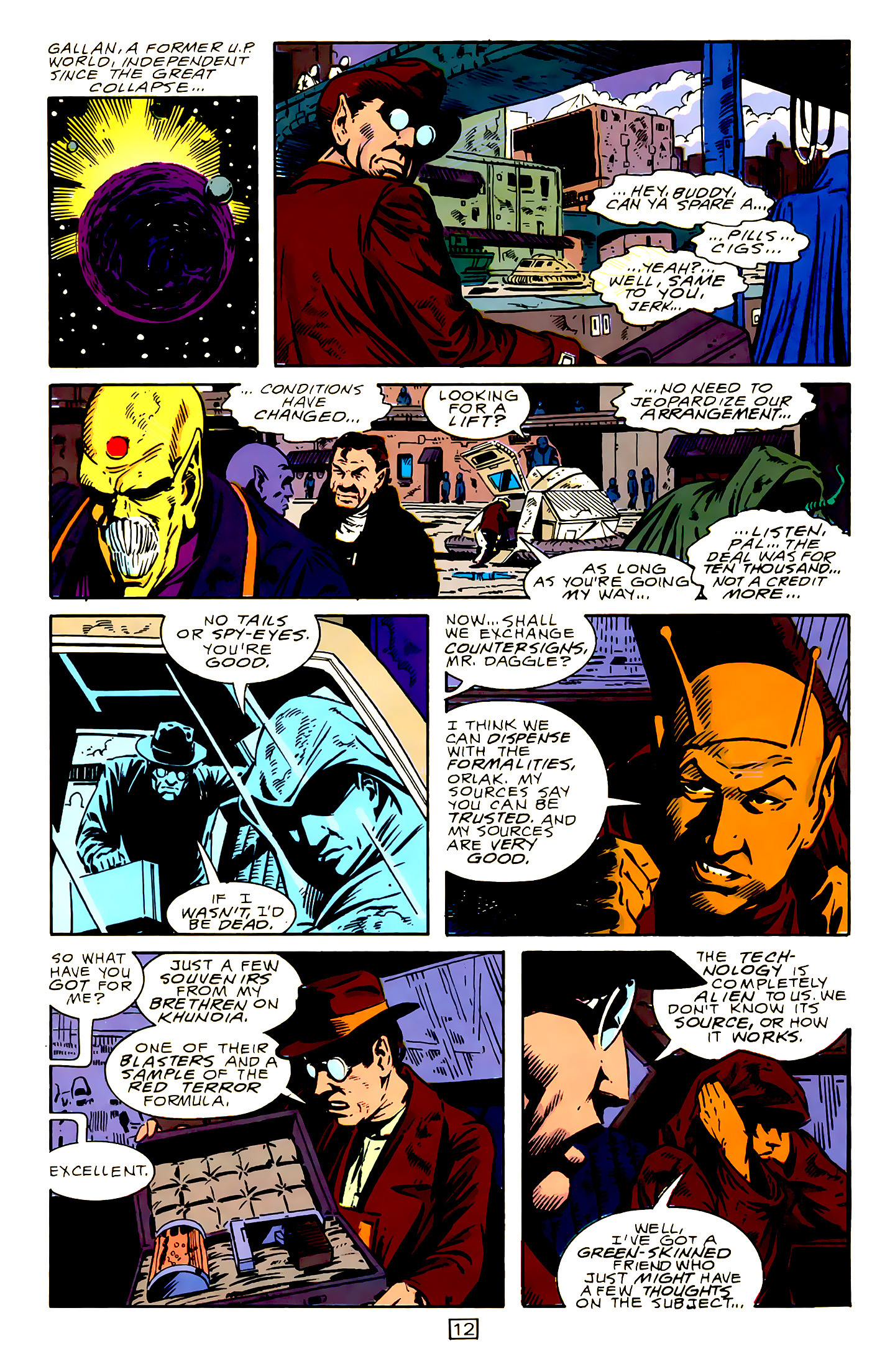 Legion of Super-Heroes (1989) 15 Page 12