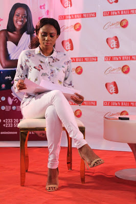 Photos: Celebrity Fanzone Holds Maiden Town Hall Meeting On Wisconsin Campus