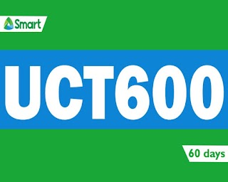 Smart UCT600 – 2GB Data, Unlitext to All, Unli Tri-Net Calls for 60 Days