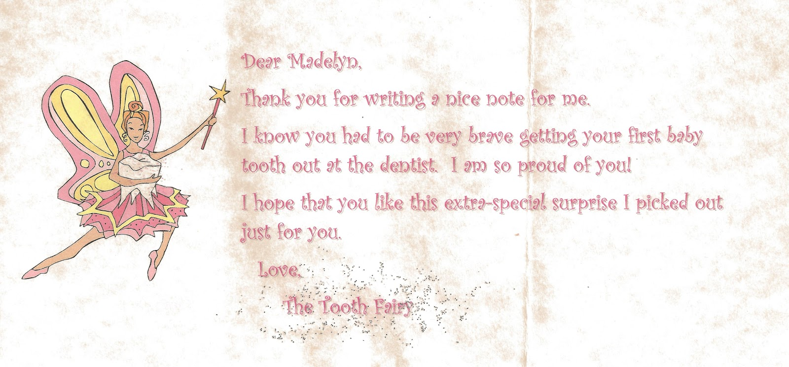 Beyond Mommy Tooth Fairy