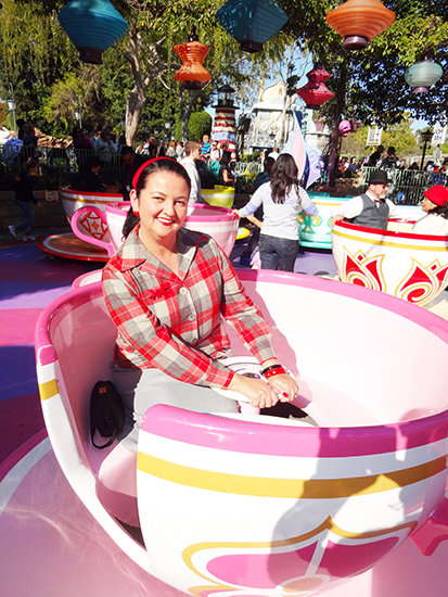Disneyland Pendleton Dapper Day Tea Cup 1950s