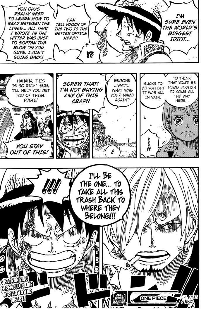 One Piece Ch.843