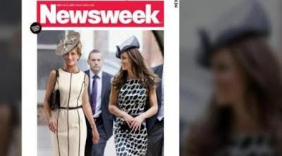 2 Foto Penampakan 'Hantu' Putri Diana yang Menggegerkan Dunia
