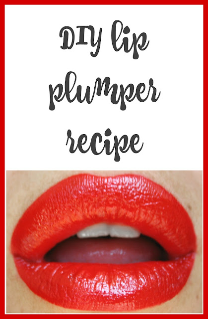 DIY Lip Plumper Recipe