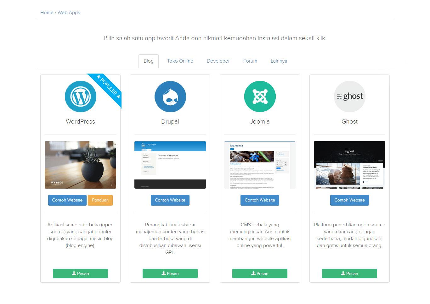 Membuat Website Sendiri