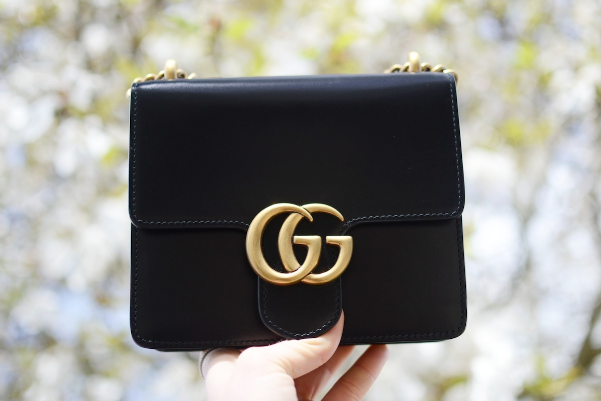 Gucci Marmont bag blogger