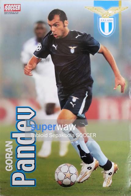 Poster Goran Pandev (Lazio 2007)