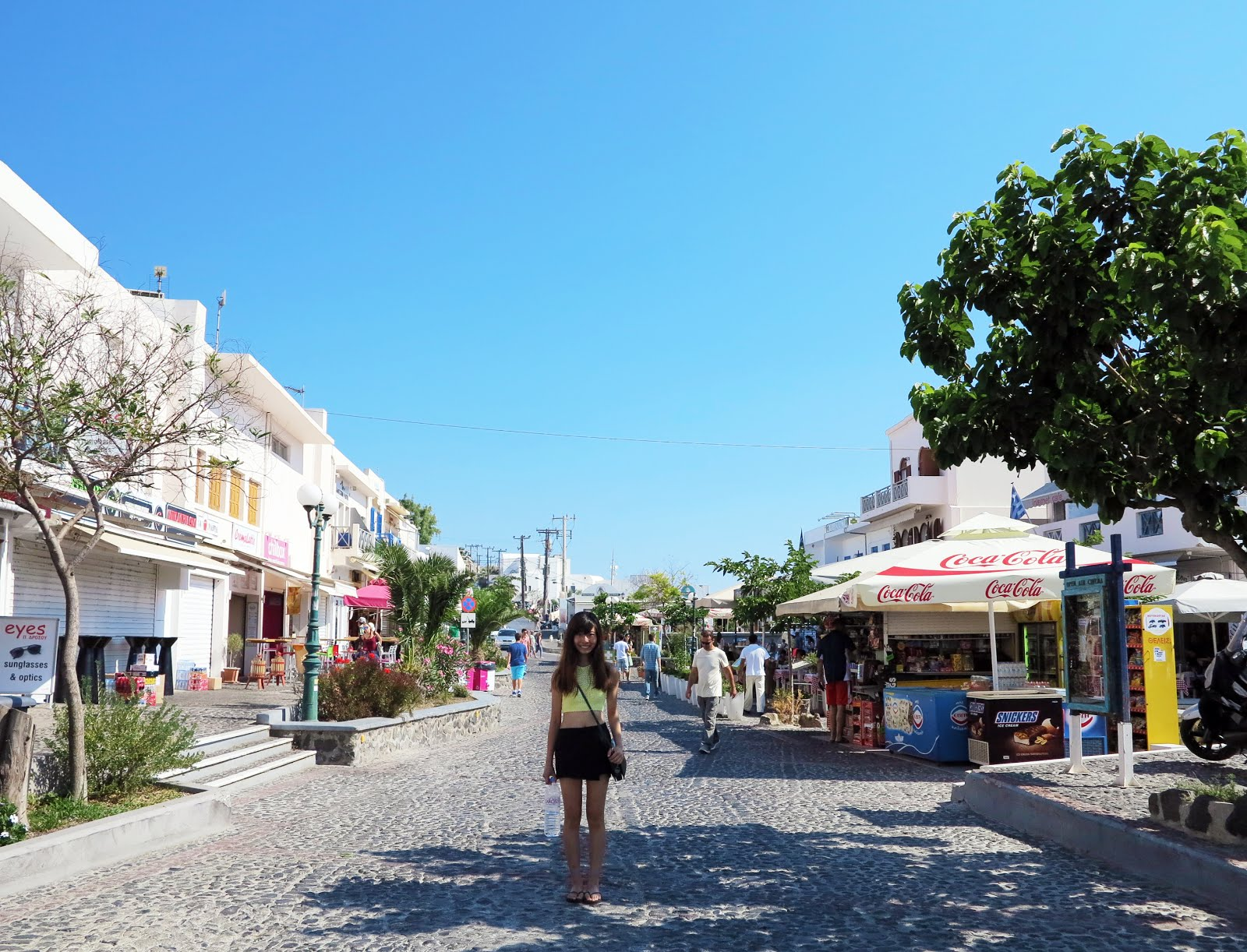 Day 2 In Santorini Was Spent Exploring Fira Joining A Volcano Tour And Visiting The Ri Beach Red