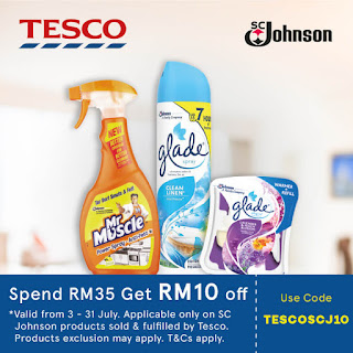 Lazada Voucher Code Malaysia Tesco Johnson Products