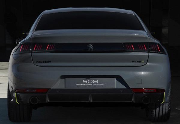 Peugeot 508 híbrido concept